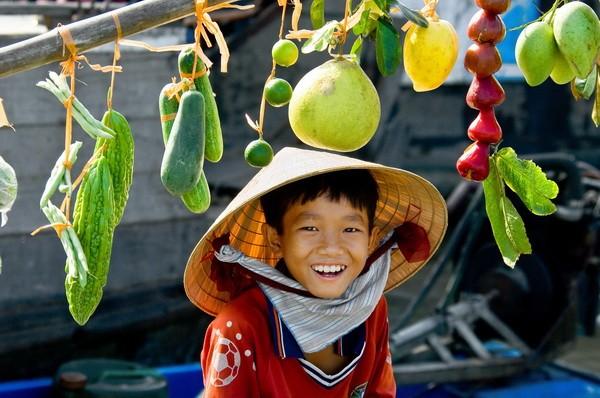 Nụ cười Việt Nam. Ảnh: ST