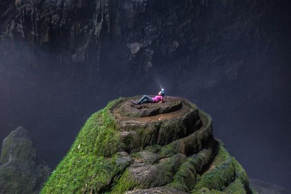 Hang Sơn Đoòng (Quảng Bình, Việt Nam) được biết đến là hang động tự nhiên lớn nhất thế giới. Ảnh: ST