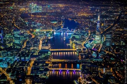 Vẻ đẹp London từ độ cao gần 2000m