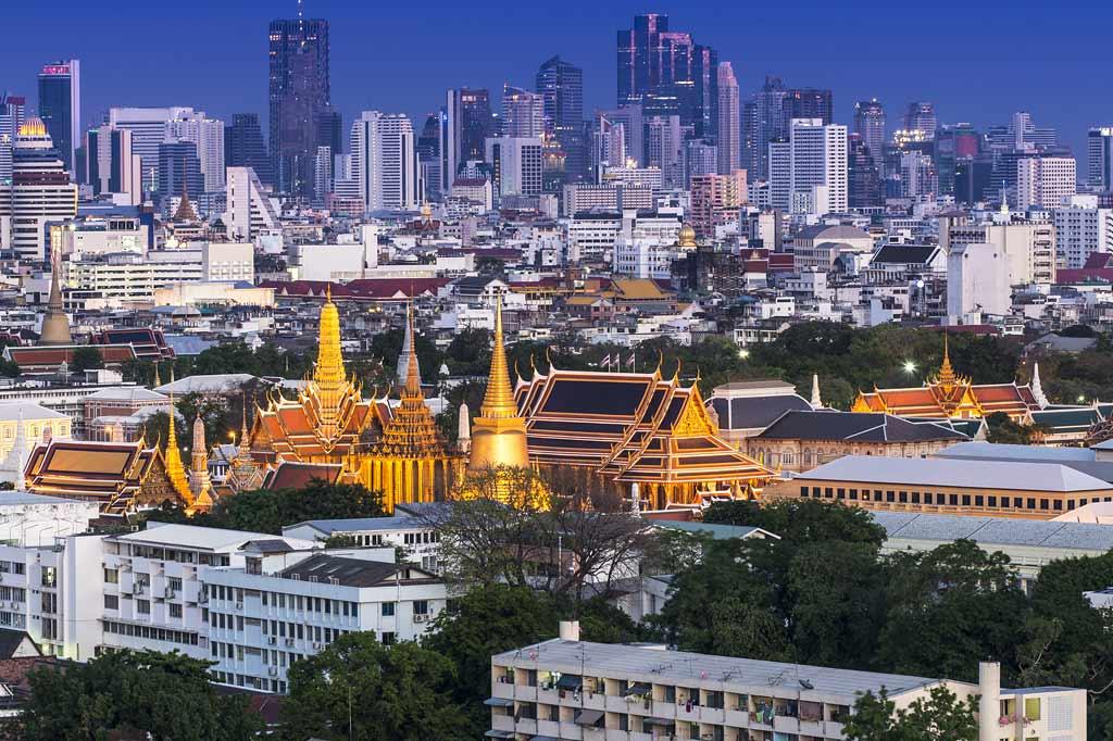 Thời điểm tuyệt vời và dễ chịu nhất ở Bangkok là từ tháng 11 tới tháng 2. Ảnh: Bangkok.com
