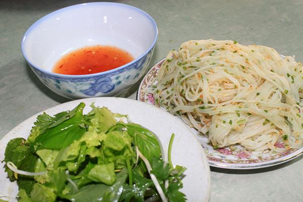 Bánh dây Bồng Sơn, đặc sản Bình Định