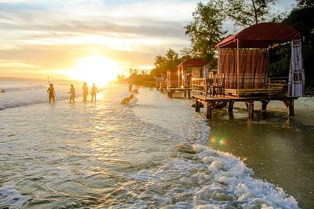 Mặt trời trên đảo Cô Tô