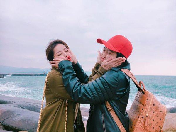 Cặp đôi Chi Pu – Gil Lê và mẹ vi vu du xuân Đài Loan