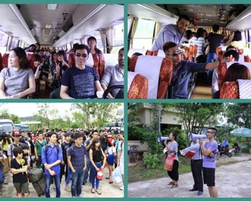 Teambuilding tại KDL Thanh Thủy