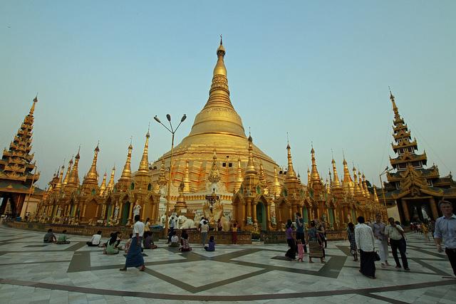 Chùa vàng Swedagon (Yangon)